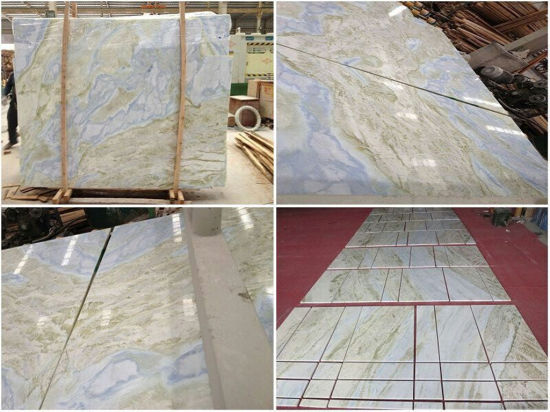 China Blue Jade Marble Tile Onyx Marble Floor Tile China Marble
