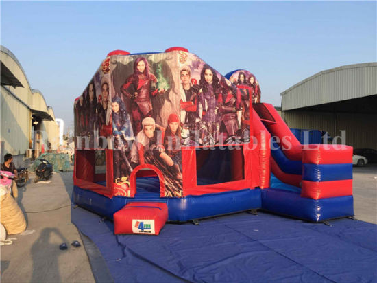 High Quality Inflatable Descendants Theme Jumping Castle for Sale : jumping tent - memphite.com