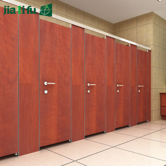 Water Resistant HPL Shower Room Partitions pictures & photos
