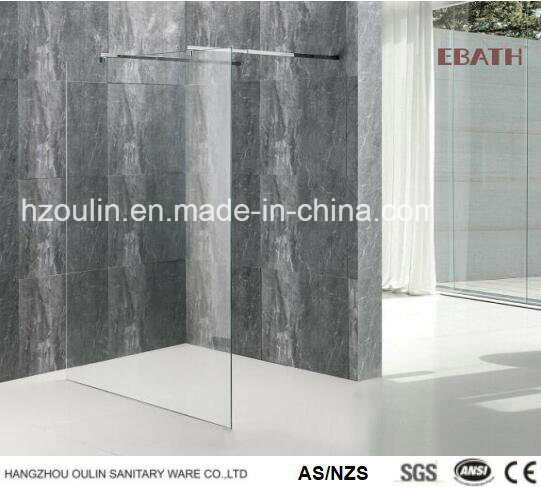 Walk-in Shower Enclosures for a Modern Bathroom with Nano Glass