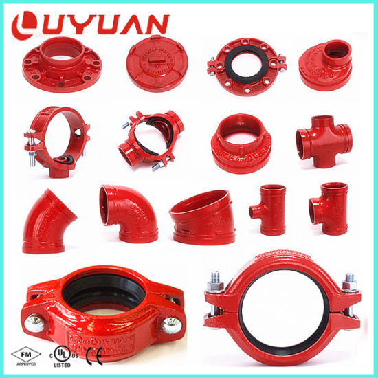 4 Inch Hose Clamps with UL/ FM Approval for Fire Fighting System pictures & photos