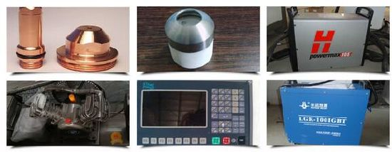 100A Huayuan Metal Plasma Cutting Machine 105A Hypertherm Power Supply pictures & photos