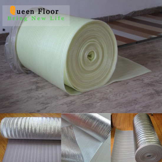 1 5mm Cheap Epe Laminate Flooring Foam Underlayment For Wood Floor