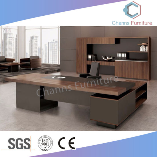 Beau Modern Two Layer Big Size Office Table Boss Desk (CAS MD18A45)
