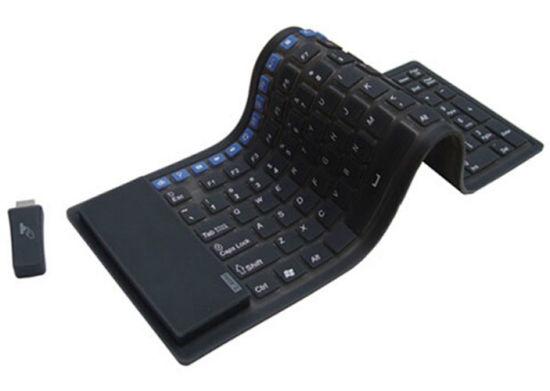 New Style Wireless Flexible Keyboard Custom Color