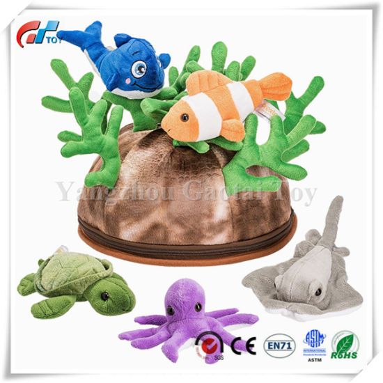 12 Piece CORAL REEF PLAYSET