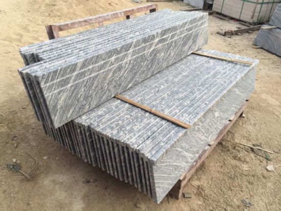 Wholesale Waves of Sand Juparana Granite Stairs pictures & photos