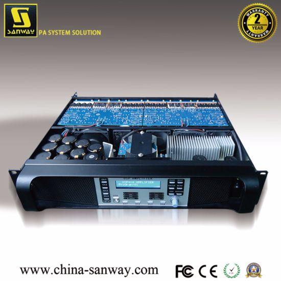 DSP-10kq 4 X 2200W 4 Channel Digital DSP Power Amplifier