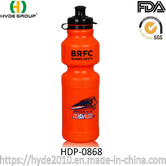 Factory Customized Logo Plastic Drinking Water Bottle (HDP-0868)