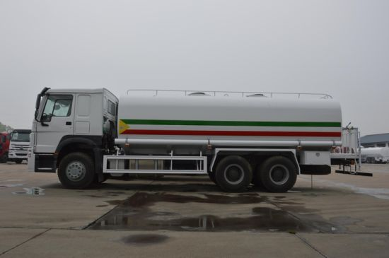 Chinese Manufacture Sinotruk HOWO 20, 000 Litres 20m3 3 Axle Water Brower Truck for Water Transportation and Sprinkler pictures & photos