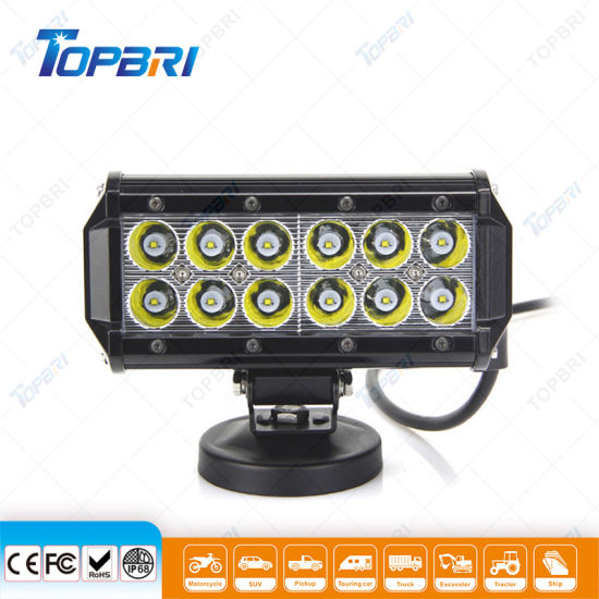 36W Auto Lamps CREE LED Driving Light Bar for 4X4 Offroad