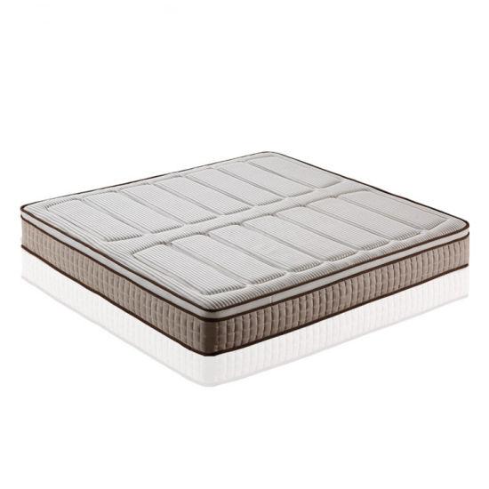 Comfortable New Design Pillow Top Pocket Spring 5 Star Hotel Mattress