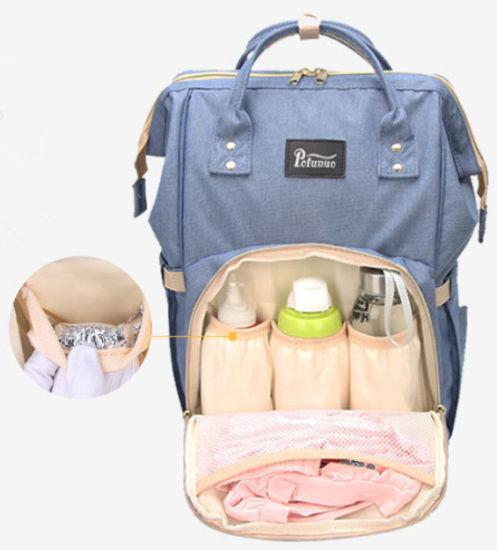 Fashion Multi-Function Mummy Shoulder Backpack Nappy Bag Baby Diaper Bag