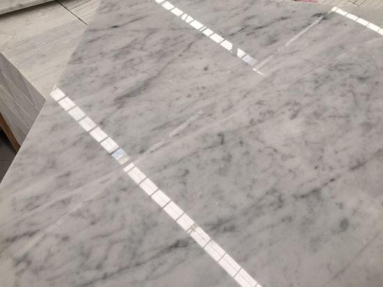 White Natural Bianco Cararra White Marble Tiles