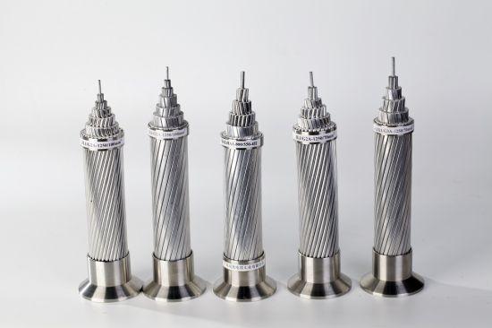 Bare Aluminum Cable ACSR Conductor Aluminum Conductor Steel Reinforced