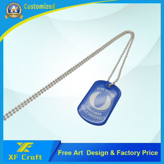 Wholesale High Quality Custom Logo Metal Dog Tag, Pet Tag for Souvenir Gift (DT11-C) pictures & photos