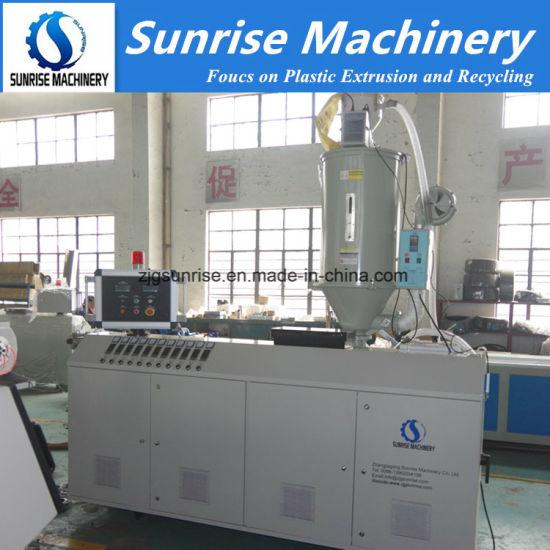 Plastic HDPE/PE Pipe Extrusion Machine/ Plastic Machine