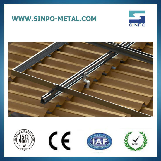 Solar Power Mounting System of Solar Products Structure for Solar Brackets