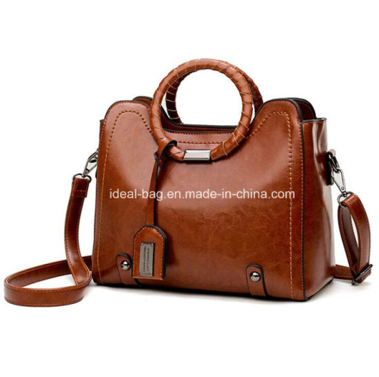 0210dabacf3b China Custom Round Weaving Hand Bag, New Arrival PU Leather Designer ...