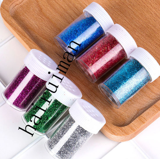 Pet 20g Bottle Glitter Powder Admirable Flash Glitter Pigment Eyeshadow Powder pictures & photos