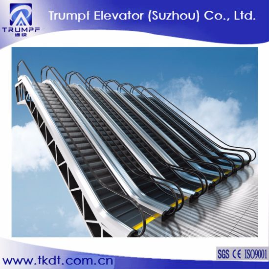 Indoor or Outdoor Commercial Economical Moving Escalator with with 30 or 35 Degree