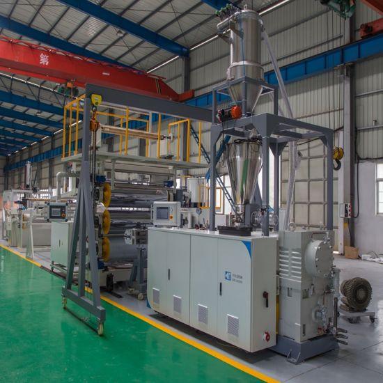 PVC Sheet Manufacturing Machine/PVC Rigid Imitation Marble Board/Sheet/Plate Extruding Extrusion Making Machine/PVC Artificial Lmitation Decorative Line
