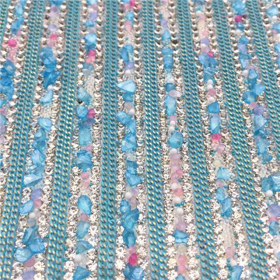 745e2d1acac4bc China Hot Fix Rhinestone Mesh Trimming Glass Crystal Sheet Wholesale ...