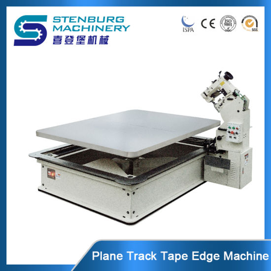 Mattress Plane Track/Singer 300u Sewing Head Mattress Making Machine /Chain Stitch Tape Edge Machine