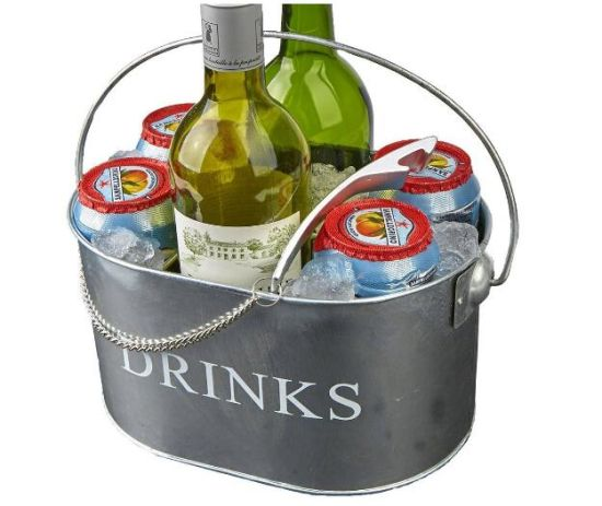 Galvanized 6 Compartment Ice Bucket Beverage Tub pictures & photos