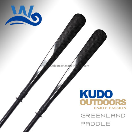Hot Sale Carbon Greenland Paddle Wholesale Kayak Paddle