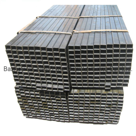 Mild Steel Pipes China Manufacturer Black Ms Square Hollow Section A36 Carbon Steel Pipe