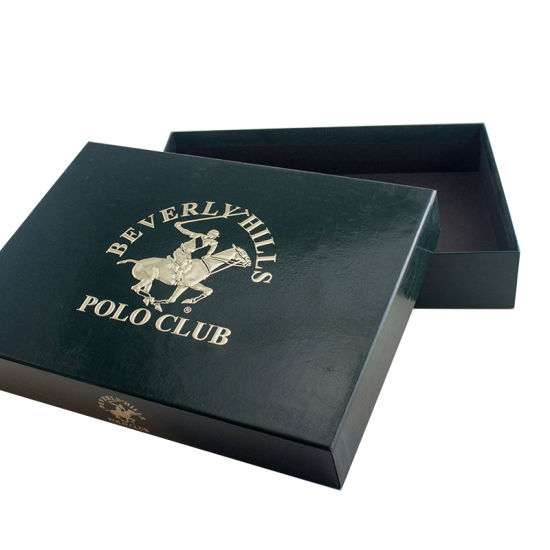 Manufacturer High Quality UV Embossed Technique Full Black Hat Box for Packing Shirt, Paints, Home-Textile. pictures & photos