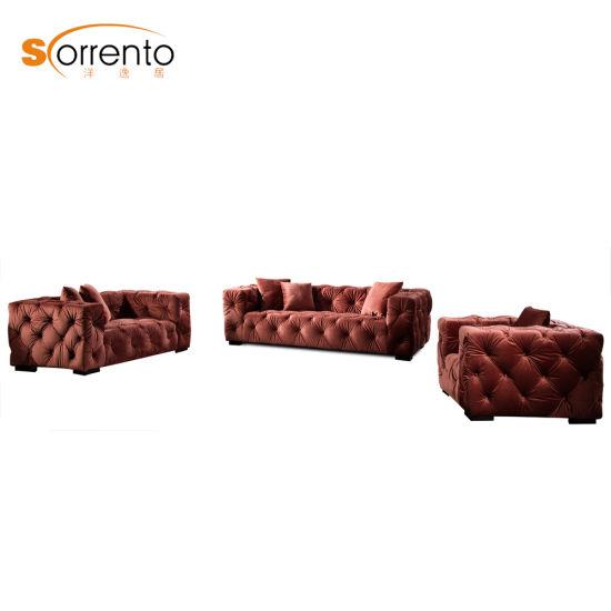 Living Room Furniture Fabric Sofa