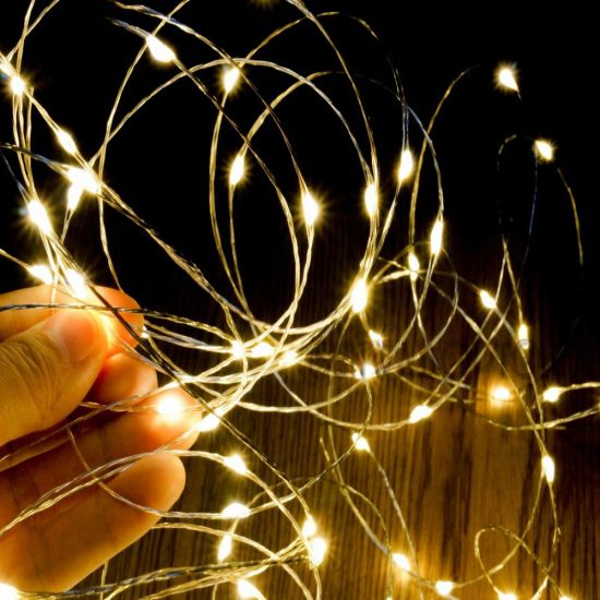 Ce Rohs Led Copper Wire String Lights Festive Party Supplies