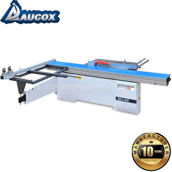 Woodworking Sliding Table Saw Mj45 for PVC MDF Board