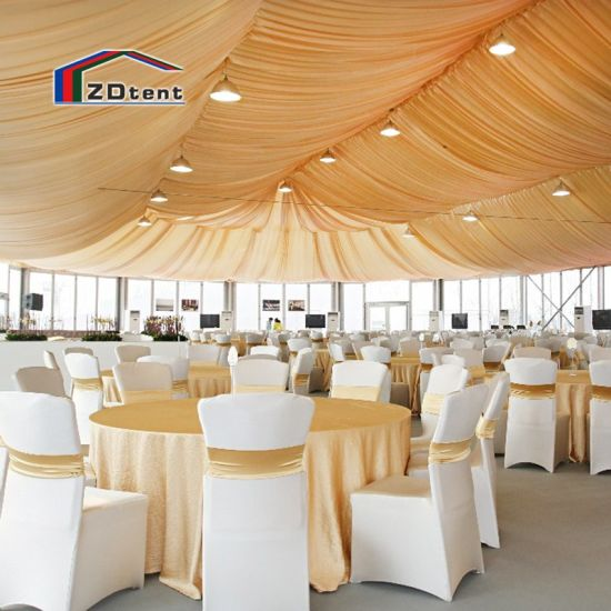 Changzhou Large Marquee Waterproof Wedding Ceremony Tent for 300-500 Guest