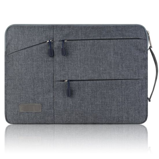 China 14inch To 15 6inch Laptop Shoulder Sleeve Messenger Bag Case With Handle And Extra Side Pocket For Chromebook China Polyester Laptop Cover For Surface 13inch And Nylon Bags For Macbook Price