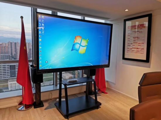 65inch Electronic Interactive Touch Totem Smooth Screen