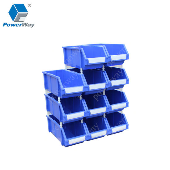 Material Use Small Parts Plastic Storage Bins for Bolts and Nuts Organization