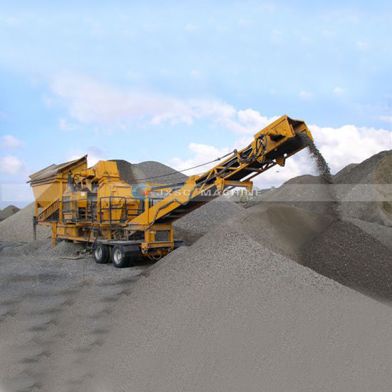 Mobile Stone Machine Jaw/Impact/Cone/Crushing for Rock Mining Crusher Plant