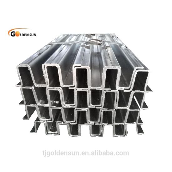 Omega Profile Galvanized and Zinc Prepainted by Asian Steel Trading Company