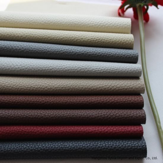 PVC for Sofas Furniture Upholstery Fabrics Types Leather