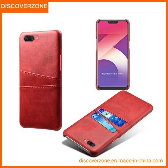 Leather Mobile/Cell Phone Case Card Slot Oppo A3s/F11 Phone Cases