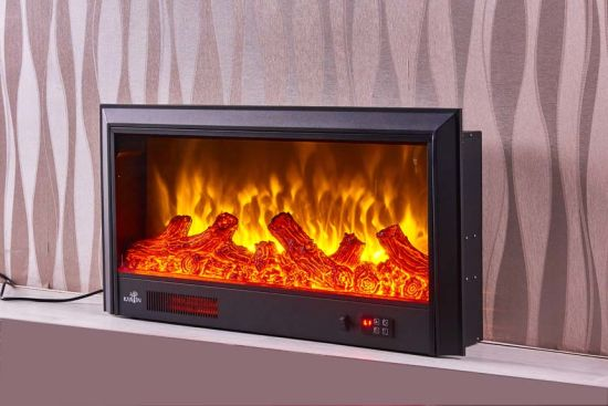 China Modern Furniture Electric Fireplace With Heater Insert