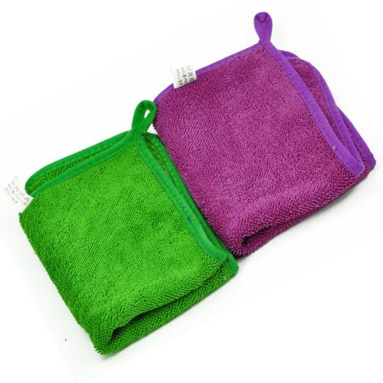 Microfiber Cleaning Car Towel Loop Super Drying Twisted Towel
