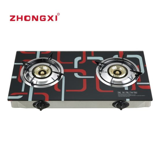 Africa Market Hot Sales Tempered Glass Gas Stove (JZ-SS01)