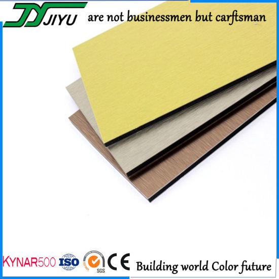 3mm 4mm PVDF Coating Unbroken Aluminum Composite Panel for Wall Cladding