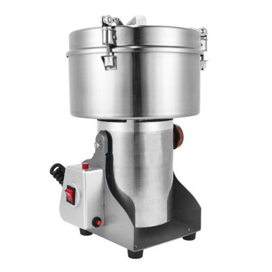 Electric Stainless Steel 2500g Powder Swing Grain Pulverizer Grinder Machine