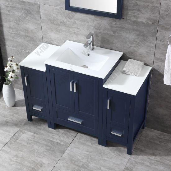 Navy Blue 48inch Modern Bathroom Vanity