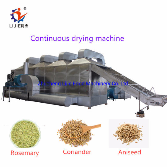 Automatic Continuous Vegetable/Fruit/Spice/Herbs/Carrot/Radish/Lemon/Apple/Peach/Onion/Potato Mesh Belt Drying Machine for Farm/Food Plant/Factory